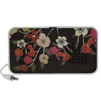 Cherry blossom flowers Doodle Travel Speakers