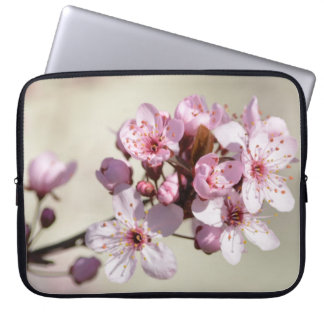 Cherry Blossom Flowers Laptop Computer Sleeves