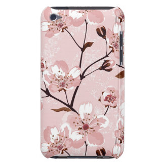 Cherry Blossom Flowers Pattern Barely There iPod Cases