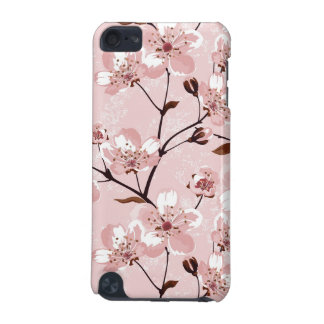 Cherry Blossom Flowers Pattern iPod Touch 5G Covers