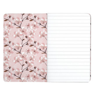Cherry Blossom Flowers Pattern Journal