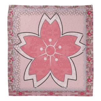 Cherry Blossom Geisha Head Kerchiefs