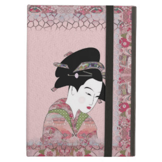 Cherry Blossom Geisha iPad Air Cover