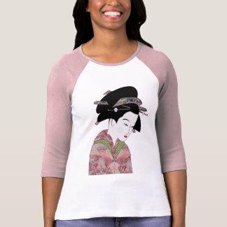 Cherry Blossom Geisha T-Shirt