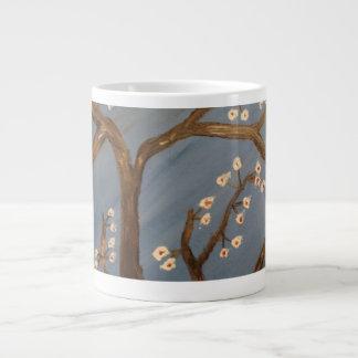 Cherry Blossom Giant Coffee Mug
