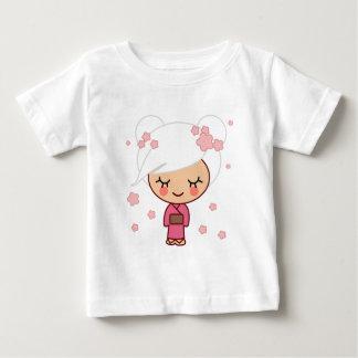 Cherry Blossom girl Baby T-Shirt