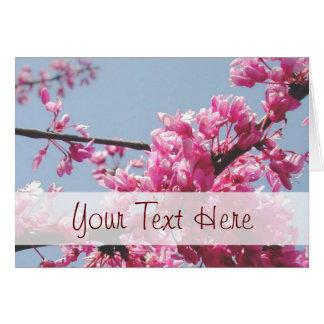 Cherry Blossom Greeting Card (Customizable)