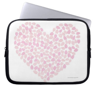 Cherry Blossom Heart Laptop Sleeves