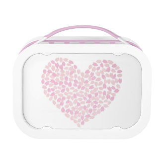 Cherry Blossom Heart Lunch Boxes