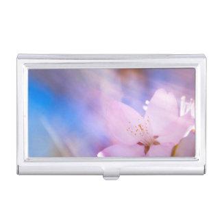 Cherry blossom Heavenly light Business Card Holder