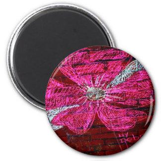 Cherry Blossom in chalk Magnet