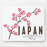 CHERRY BLOSSOM - JAPAN MOUSE MAT