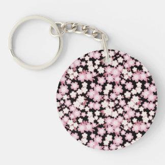 Cherry Blossom - Japanese Sakura- Key Ring