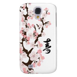 Cherry Blossom Kanji Galaxy S4 Case