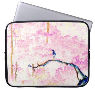 Cherry Blossom Landscape Laptop Computer Sleeve