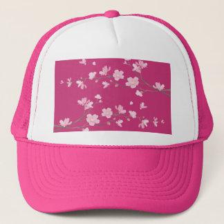 Cherry Blossom - Magenta Trucker Hat