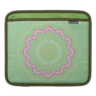 Cherry Blossom, Mandala Art, iPad Sleeve