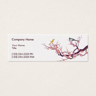 Cherry Blossom Mini Business Card