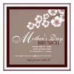 Cherry Blossom Mother's Day Brunch Invitation