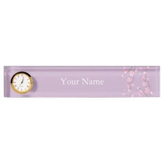 Cherry Blossom Nameplate