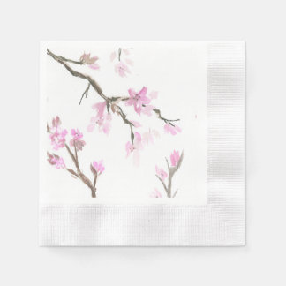 Cherry Blossom Napkins Disposable Serviette