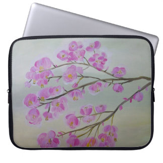 Cherry Blossom Neoprene Laptop Sleeve 15 inch
