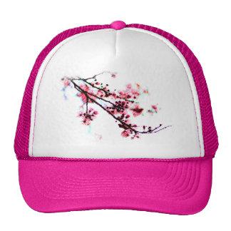 Cherry Blossom Painting Cap