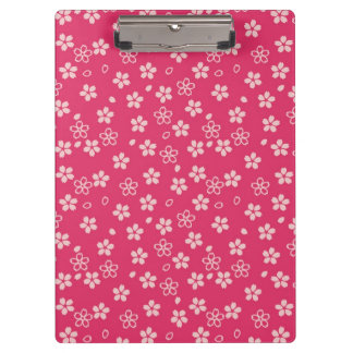Cherry Blossom pattern Clipboard