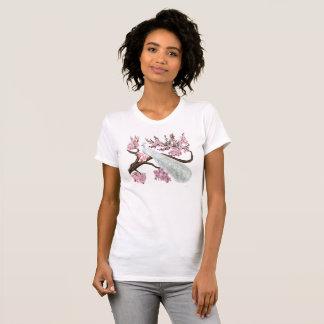 Cherry Blossom Peacock Tshirt