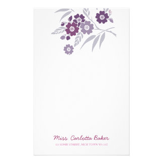 Cherry Blossom Personal Stationery