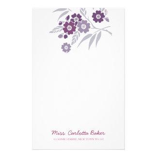 Cherry Blossom Personal Stationery