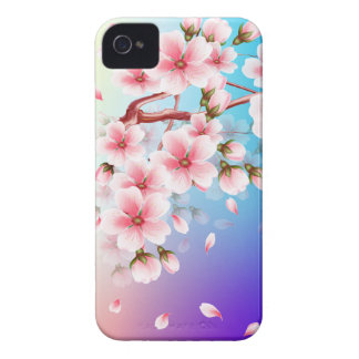 Cherry blossom petals fall Case-Mate iPhone 4 case