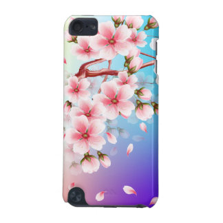 Cherry blossom petals fall iPod touch (5th generation) cover