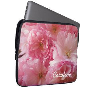 Cherry Blossom Petals Laptop Sleeve