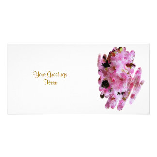 CHERRY BLOSSOM CUSTOM PHOTO CARD