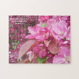 Cherry Blossom Photo Jigsaw Puzzle