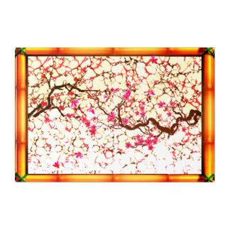 Cherry Blossom Pink Acrylic Wall Art