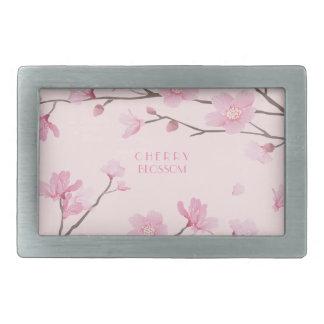 Cherry Blossom - Pink Belt Buckle