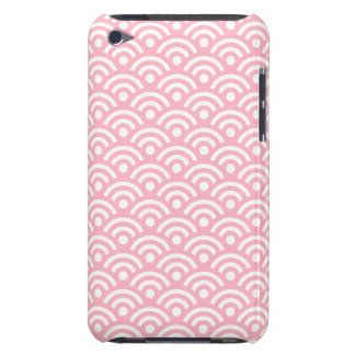 Cherry Blossom Pink Geometric iPod Touch G4 Case iPod Case-Mate Cases