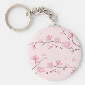 Cherry Blossom - Pink Key Ring