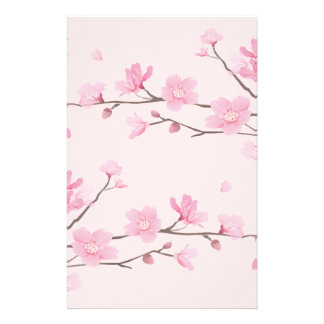 Cherry Blossom - Pink Personalised Stationery