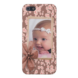 Cherry Blossom Pink Photo Custom Personalized iPhone 5/5S Case