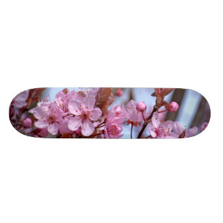 Cherry Blossom Pink Style Skateboard Deck
