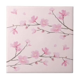 Cherry Blossom - Pink Tile