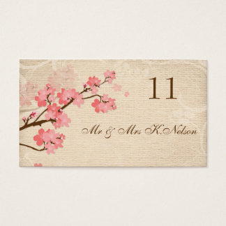 Cherry Blossom Place card/Table card Business card