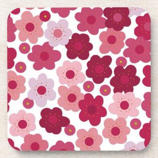 cherry blossom pop coaster