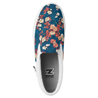 Cherry Blossom Printed Shoes
