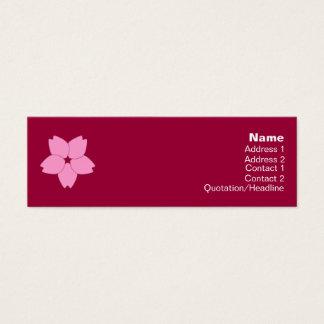 Cherry Blossom Profile Card