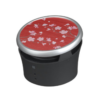Cherry Blossom - Red Bluetooth Speaker