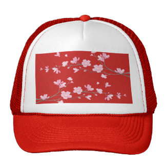 Cherry Blossom - Red Cap